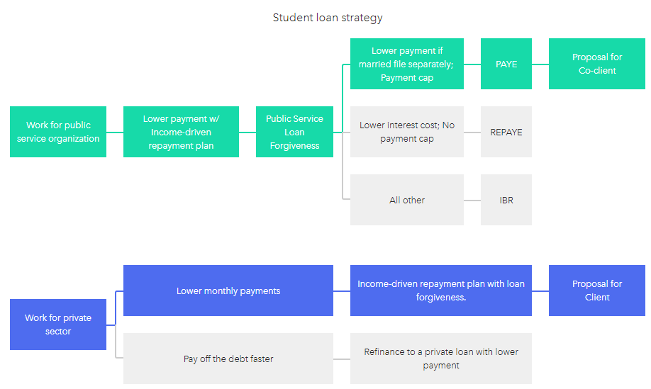 student loan strategy